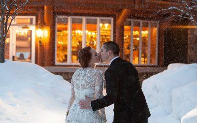 A snowy wedding at Shore Lodge (Sneak Peek)