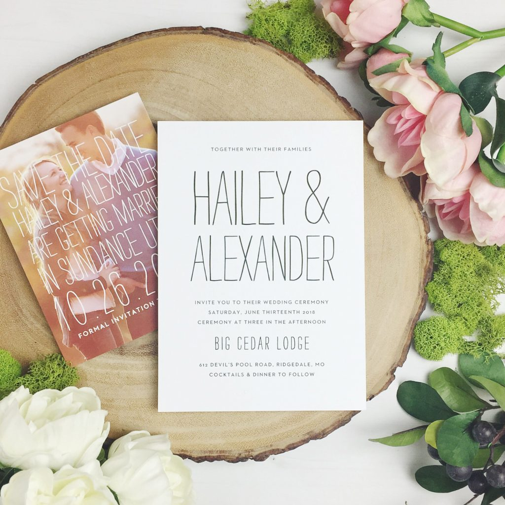 Save-The-Dates | Wedding Invitations | Bridal Shower Invites | Boise ...