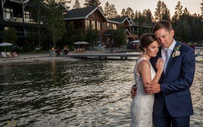 Shore Lodge Wedding   McCall Wedding