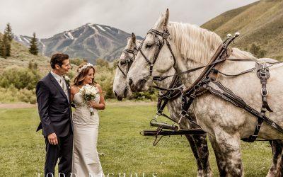 Sun Valley Wedding/Trail Creek Cabin