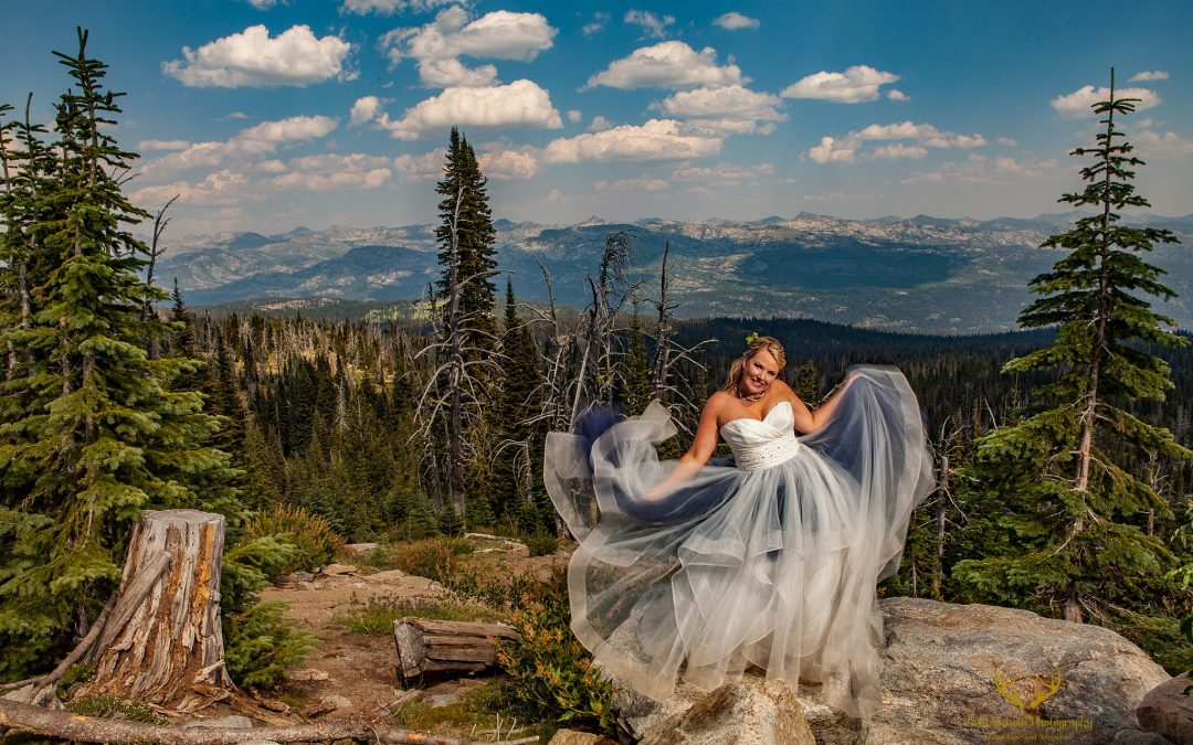 McCall Wedding and Portrait Photographer | Brundage Mountain Resort Wedding | Ashley + Ben